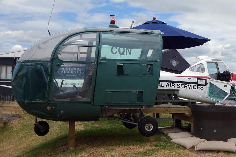 HC-BKU Sud Aviation SA.319B Alouette III c/n 2391 Tauranga/NZTG/TRG 27-01-15