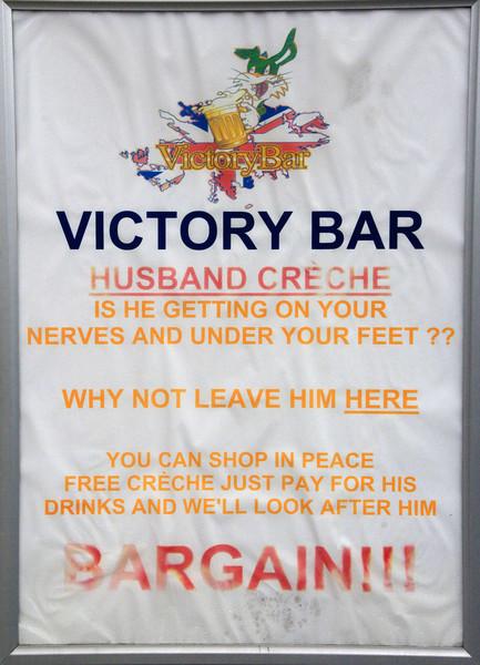 Victory Bar, Falklands