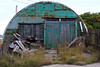 Turquoise Quonset, Stanley, Falklands
