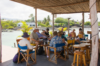 Our Fellow Travelers at Lunch, Puerto Ayora, Santa Cruz