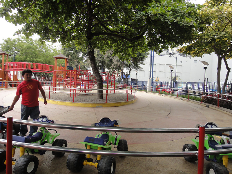 Games and jungle gyms for the kids