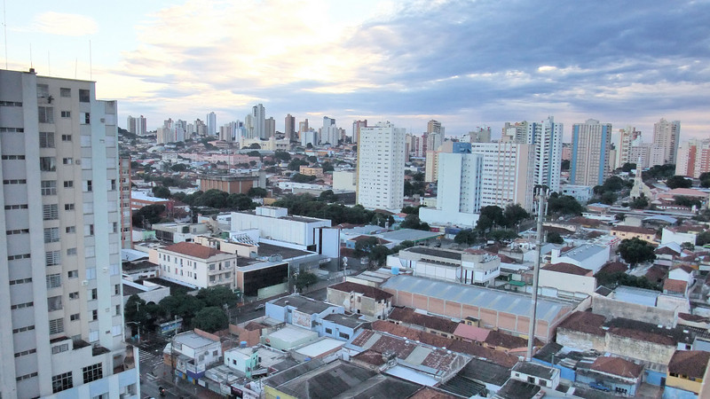 View of Campo Grande from the Jandaia Hotel