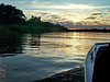 Cuiabá river at dawn