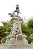 Tradition has it that if you touch or kiss the toe of the Indian on the monument to Ferdinand Magellanyour travels will be successful.