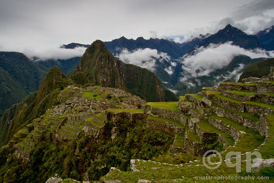 MACHU PICCHU AND TERRACES
