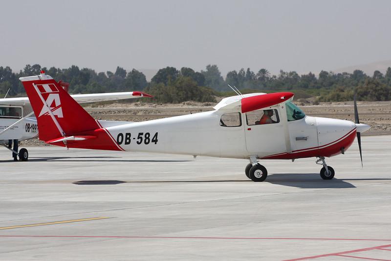 OB-584 Cessna 172B c/n 172-48688 Pisco/SPSO/PIO 04-05-16