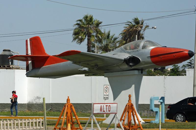475 Cessna T-37B Tweety Bird c/n 40661 Pisco/SPSO/PIO 03-05-16