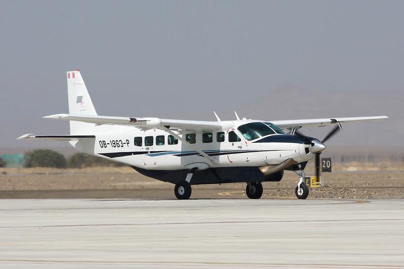 "OB-1963-P Cessna 208B Caravan ""Aerodiana"" c/n 208B-2252 Pisco/SPSO/PIO 04-05-16"