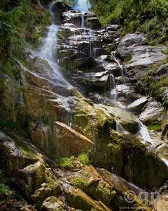 INCA TRAIL WATERFALL