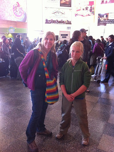 At the Cusco Airport