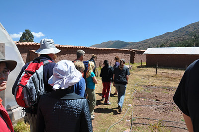 first tour around Pumamarca school