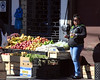 Street vendor, Punta Arenas, Chile