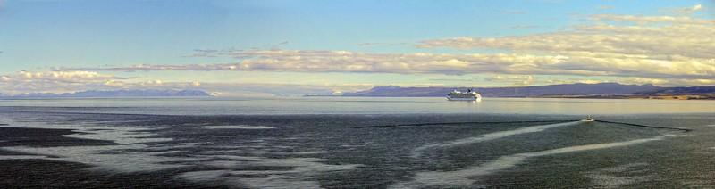 Strait of Magellan from Punta Arenas