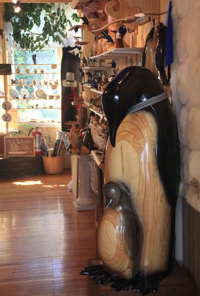 Retail Emperor Penguins, Punta Arenas, Chile