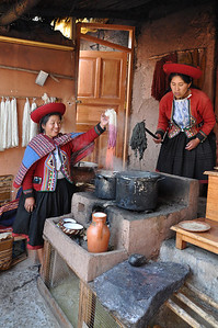 All natural ingredients are used to dye the wool.