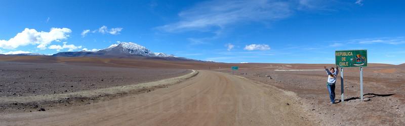 Border of Bolivia and Chile