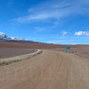 Border of Bolivia and Chile