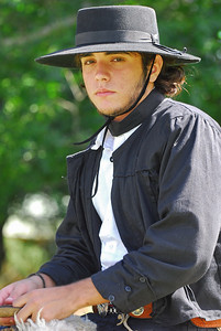 This young gaucho looked so serious but my wife got him to smile after she told him that he was the handsomest gaucho there.,