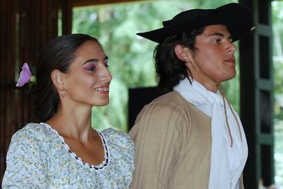 Argentina folk dancers