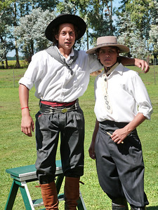 Two young gauchos