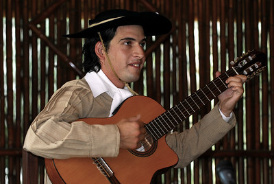 Singing gaucho