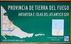 Tierra del Fuego NP Map: Terminus of Route 3