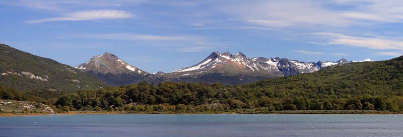 Mountains of Tierra del Fuego