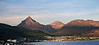 Ushuaia Harbor Peaks - Sunset