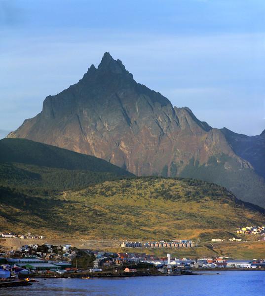 Jagged Mt Olivia