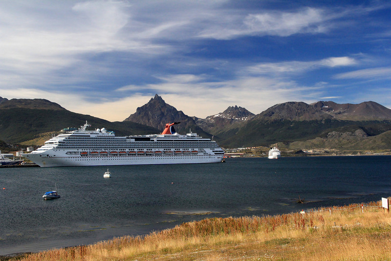 Cruise Ships in Harbor