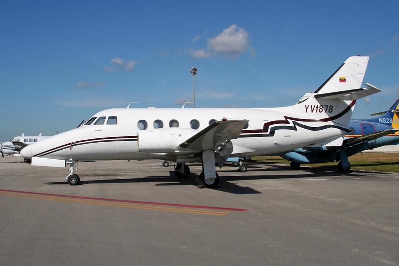 """YV1878 Handley-Page HP.137 Jetstream Century III """"TAAN"""" c/n 235 Tamiami/KTMB/TMB 05-12-08"""