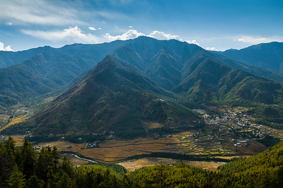 View from the Upper Paro Valley