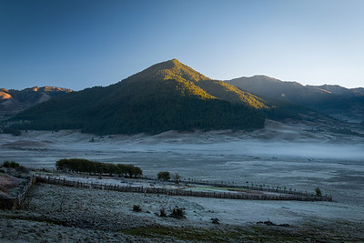 Phobjikha Valley at Dawn