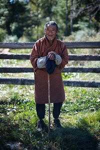 A farmer from the Tang Valley
