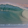 South Bay Five O.~                         This is a Very Large Wave in Redondo Beach. Usually not this large, and perfect. You can see King Harbor in the background. I have this in 20 by 30 at my home. The Colors are Outstanding.~<br /> Taken: 12-27-11