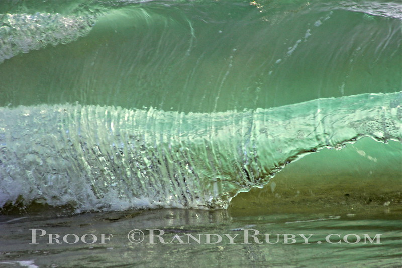 A New Shot for me. I call these Wave Art.   This is Photo One.     The Double Green Shack.~<br /> Taken: 4-21-13