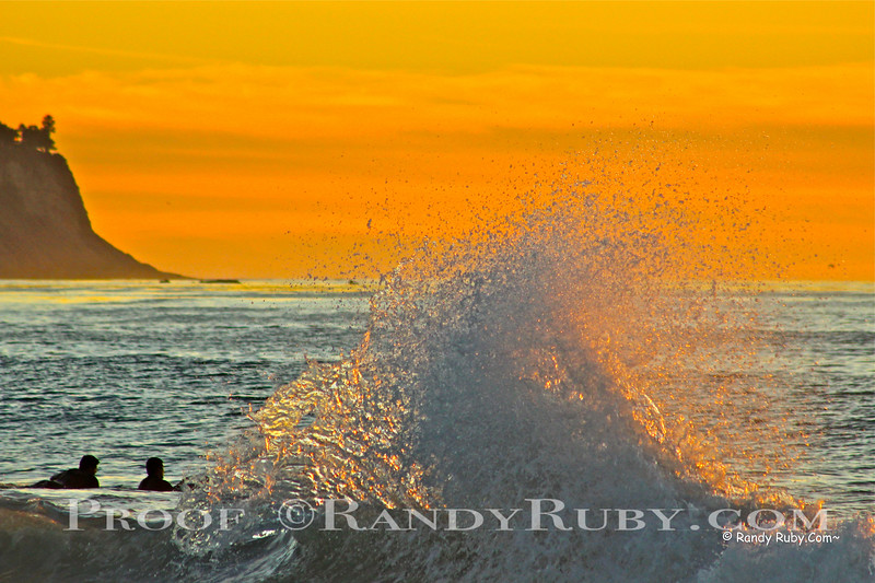 Sunset Backwash.~<br /> 11-24-13