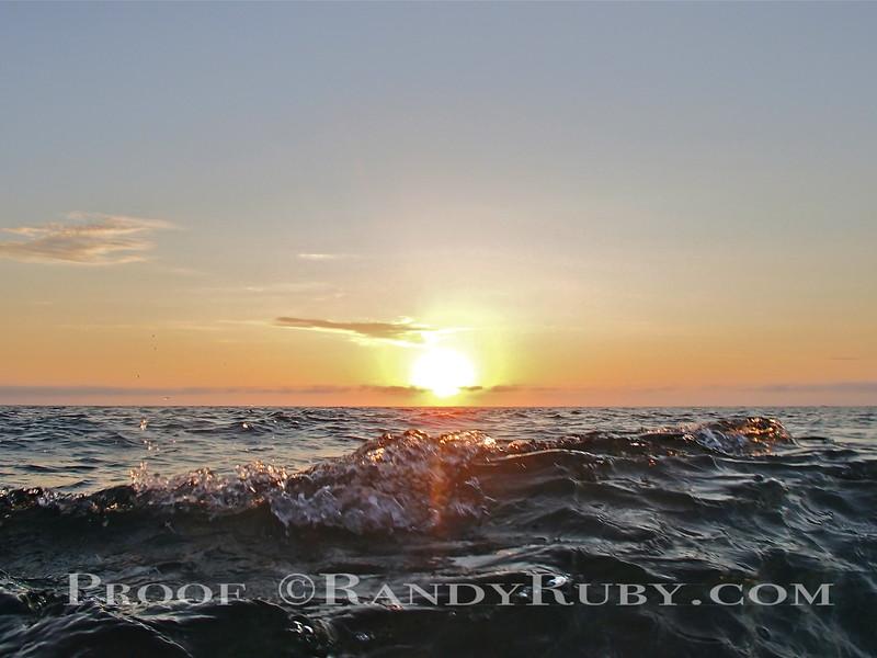 Sunset Splash.~<br /> Taken: 7-9-13