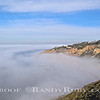 Fog Blanket over the Cove. Palos Verdes.<br /> Taken: 12/11/10