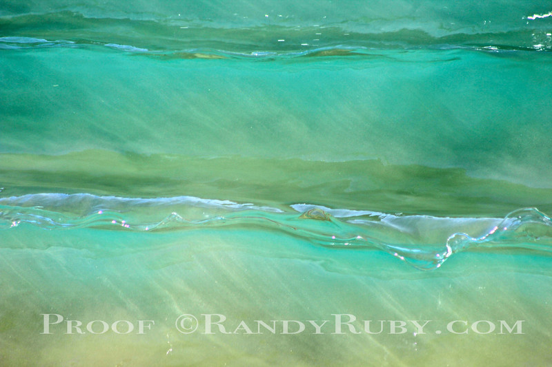 taken: 1-18-14     Green Glass Wave Art.~