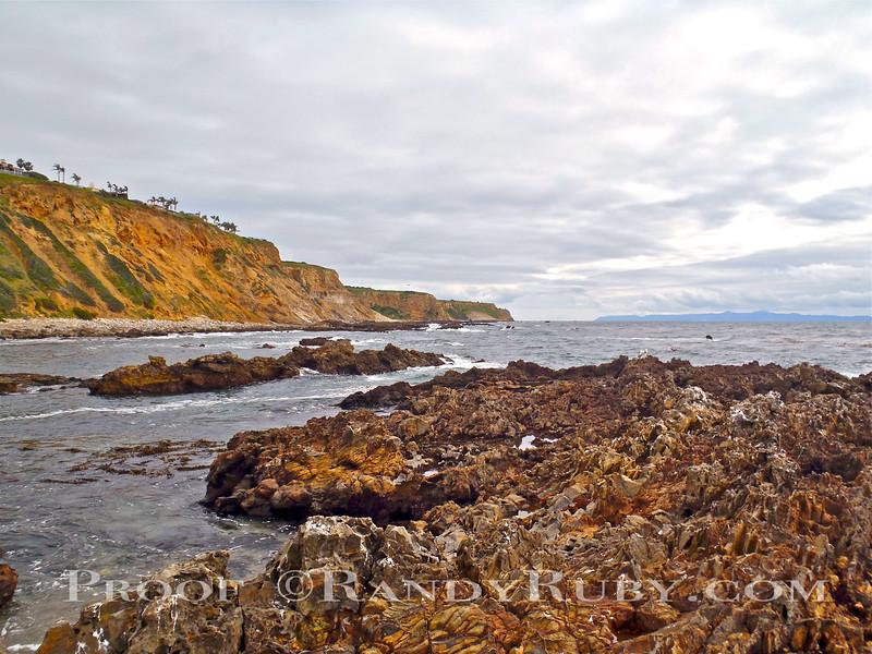 Palos Verdes with Catalina Island.~<br /> Taken: 2-25-11