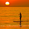 "SOLO DREAMER............~SUP = ""Stand Up Paddle Board""     Sunset<br /> taken: 7/13/13"