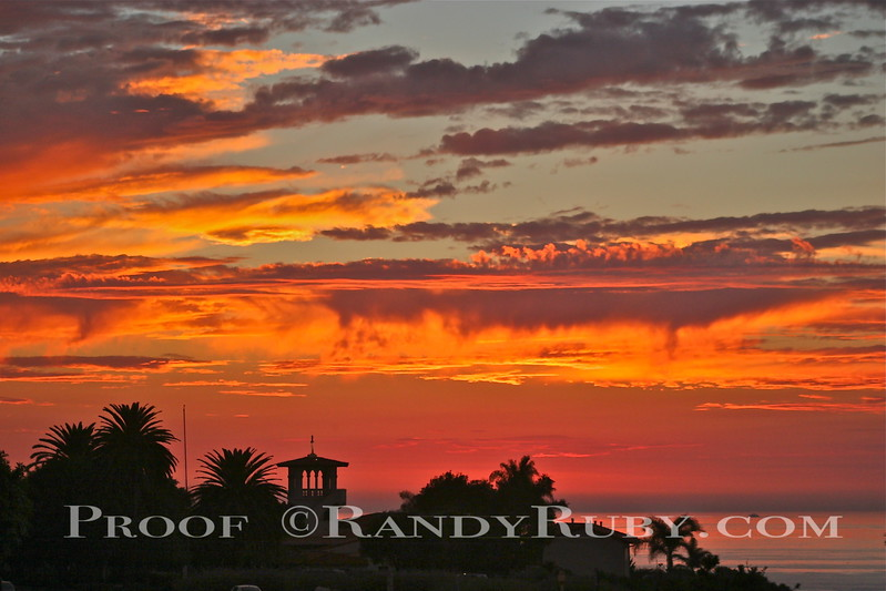"Neighborhood Church Wild Sunset.~ Palos Verdes,Ca.     ""In Living Color""<br /> Taken: 9-30-2005"