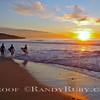 A Grom Sunset.~<br /> Taken: 11-29-11