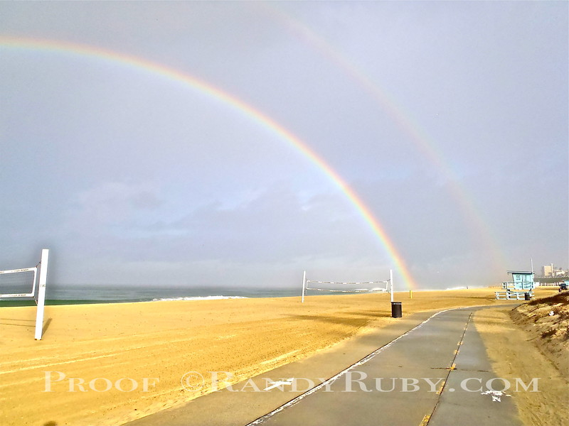 Double Redondo Rainbow.~<br /> Taken: 1-5-13