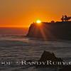 Terranea Resort Sunset  with Point Vincente Lighthouse. Ca.<br /> Taken: 8-2-2011