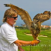 "Rocky Post and his Beautiful Owl.  ""Big Al""<br /> Taken: 8/21/11"