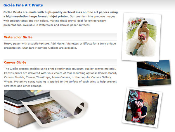 Gliclee Fine Art Prints are available directly through this gallery of handpicked fine art images.