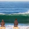 Andy Pauner-left and Matt Hixon-right  Watching a BIG Set~