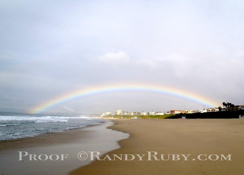 Rainbow over Redondo~